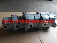 WA200 wheel loader gear pump , 705-56-26080 705-51-20290