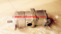 GD705 motor grader gear pump , 705-52-20090 705-24-30010 705-11-34011