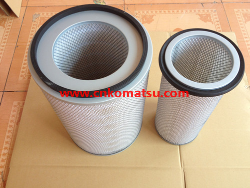 6D125 engine filter for PC400 excavator air filter ,6711-84-7050
